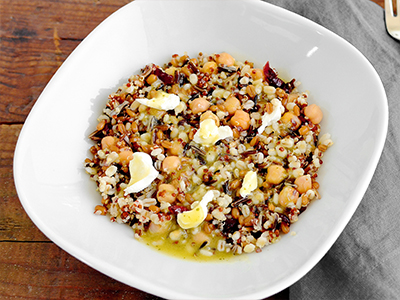 Vegetarian Ancient Grains Bowl