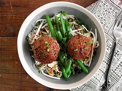 Korean Turkey Meatballs
