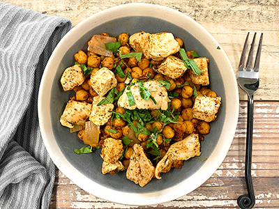 Chicken & Chickpea Curry