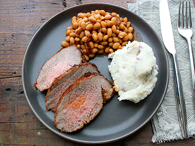 Blackened Tri-Tip Plate