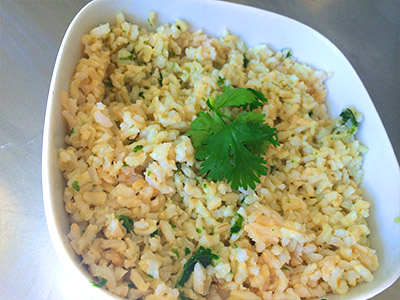 Cilantro Lime Brown Rice (1 pound)