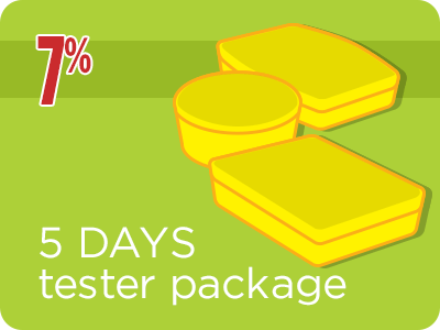 5-Day Tester Package