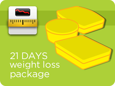 21-Day Weight-Loss Package