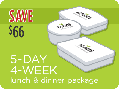 5-Day 4 Weeks Lunch & Dinner Package
